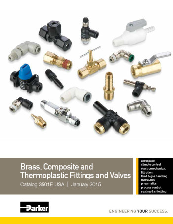 Brass Composite and Thermoplastic Fittings and Valves